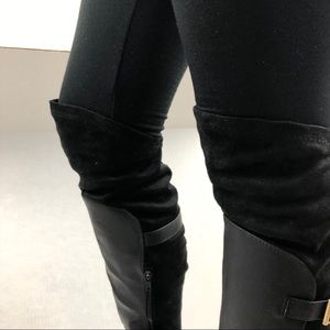 JustFab Shoes - Just Fab Donita Over The Knee Boots NEW